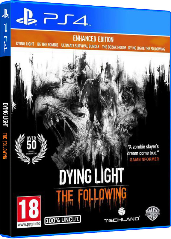 dying light the following uncut enhanced edition f r ps4 xbox one und pc g nstig kaufen. Black Bedroom Furniture Sets. Home Design Ideas