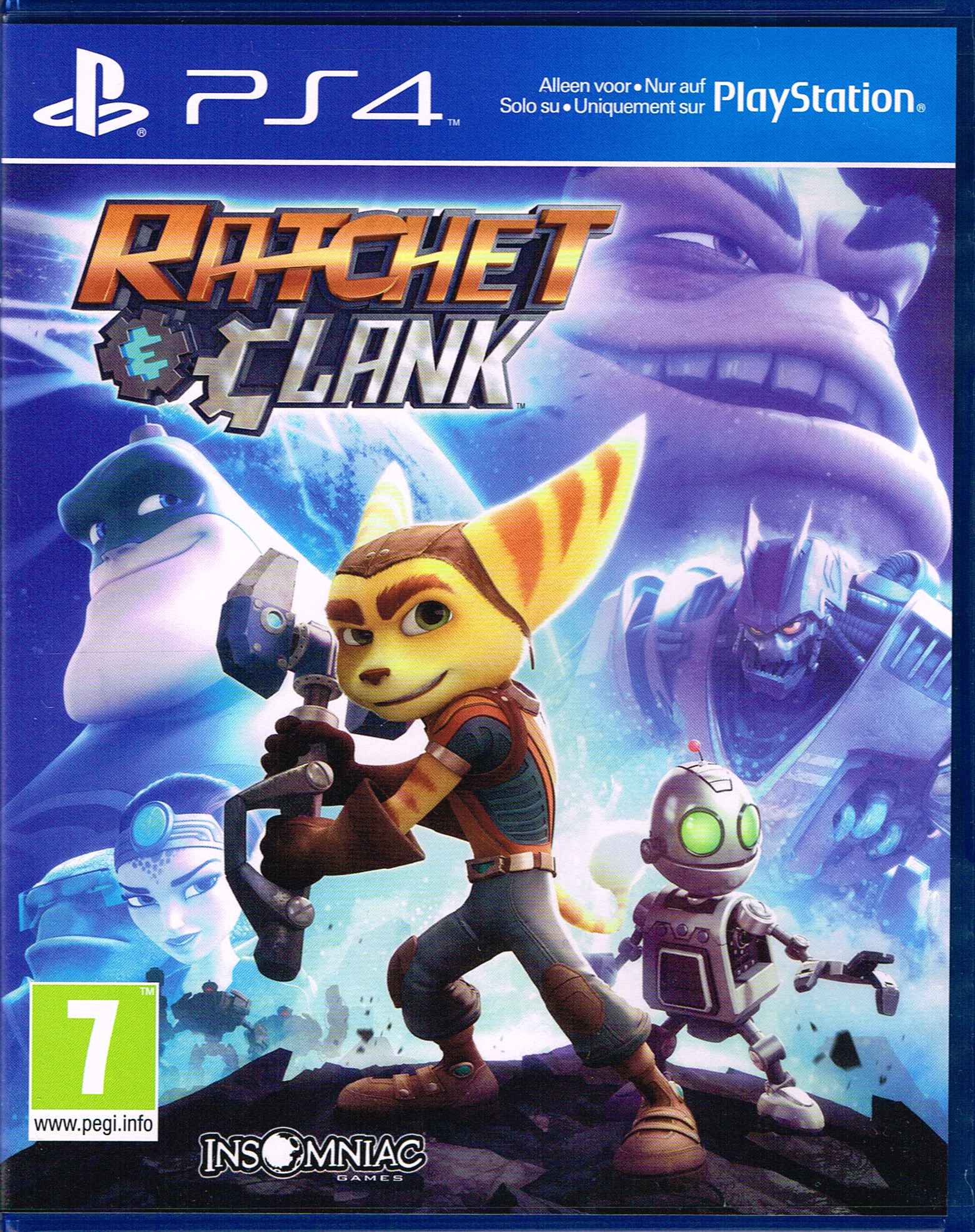 ratchet clank f r ps4 kaufen. Black Bedroom Furniture Sets. Home Design Ideas