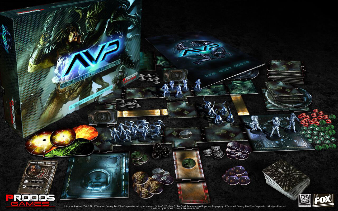 Alien Vs Predator Brettspiel The Hunt Begins Kaufen Gamewareat
